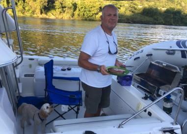 2016-9-3 grilling Beaver river