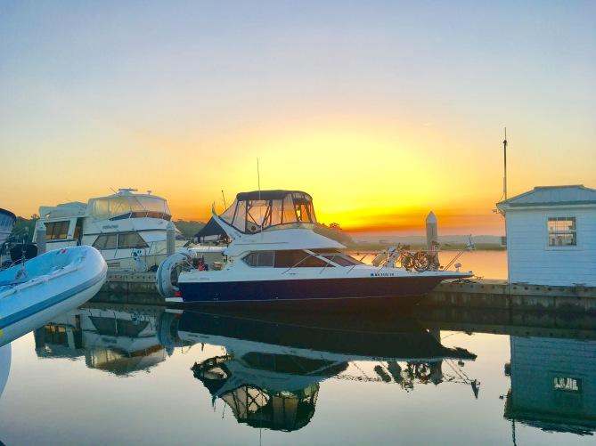2017-4-22 boat isle of hope sun