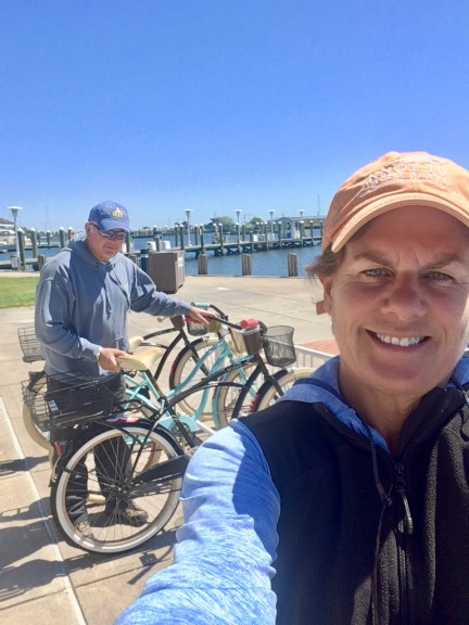 2017-5-15 biking at dock