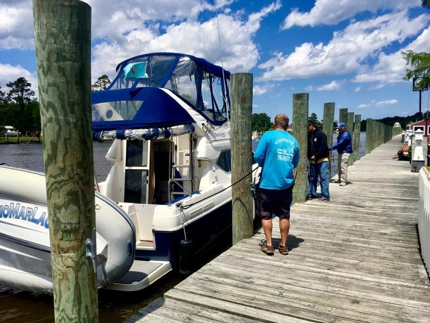 2017-5-9 walking boat back