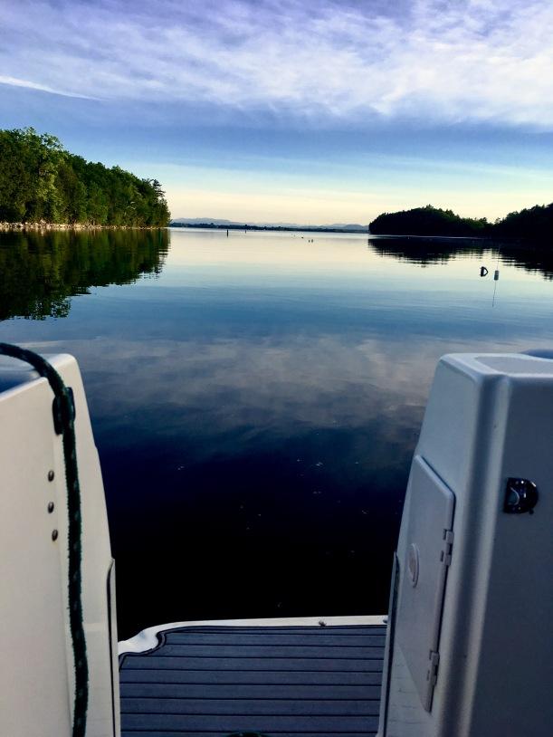 2017-6-16 deep bay eve adirondacks