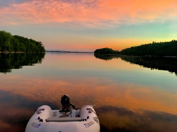 2017 6-16 sunset deep bay