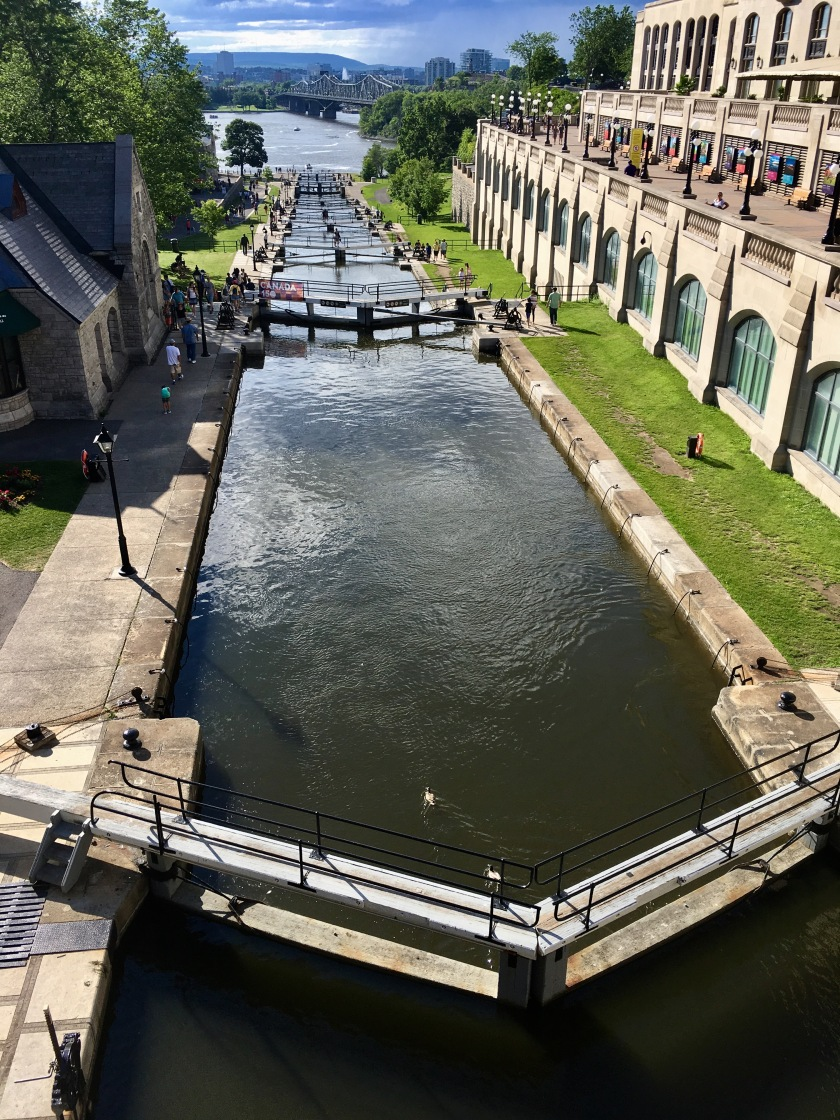 2017-6-26 locks looking down N