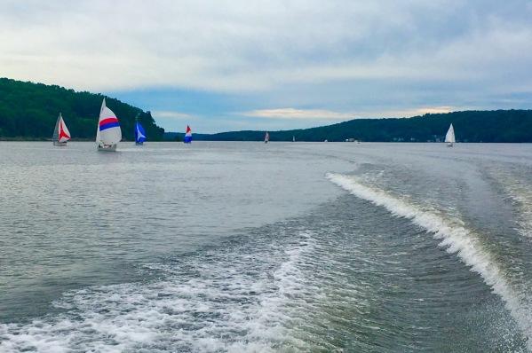 2017-6-4 sailboats hudson