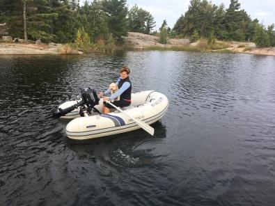 2018-8-16 B z rowing sandy bay